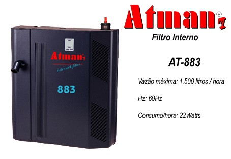 Filtro Interno Atman AT-883 - 1500 L/H
